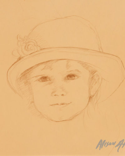 Child in Pencil